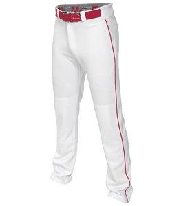 Easton Easton Mako Piped Pant White/Red L