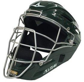 All Star Allstar - System 7 Catcher helmet MVP2500 dark green