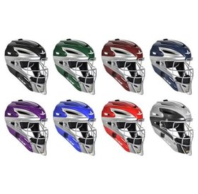 All Star Allstar - System 7 Catcher helmet MVP2500 two tone royal/grey