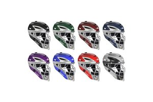 All Star Allstar - System 7 Catcher helmet MVP2500 Royal / Grey