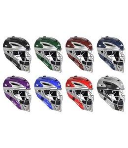 All Star Allstar - System 7 Catcher helmet MVP2500 two tone dark green/grey