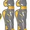 All Star All-Star System 7 Elite Travel Team leg guard Graphite-Gold 12-16