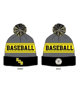 On Field OF Tuque EDB Black grey and yellow
