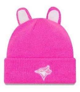 New Era Cozy Cutie Tuque Toronto Blue Jays Pink