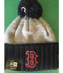 New Era New Era Reflected Frost Boston Red Sox Pom Knit