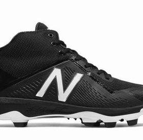 New Balance Athletic shoe inc New Balance PM4040 K4 mid-cut TPU Black-Black 2E