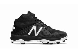 New Balance Athletic shoe inc New Balance PM4040 K4 mid-cut TPU Black-Black 2E