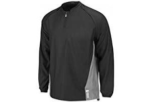 Majestic Majestic adult cool base convertible gamer jacket Black-Grey XL