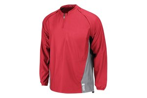 Majestic Majestic adult cool base convertible gamer jacket red-navy L