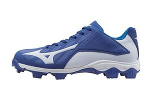 Mizuno Mizuno 9-Spike Advanced Franchise 9 low royal-white