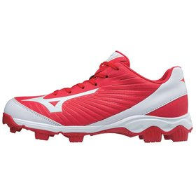 Mizuno Mizuno 9-Spike Advanced youth Franchise 9 low red-white