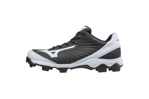 Mizuno Mizuno 9-Spike Advanced youth Franchise 9 low black-white