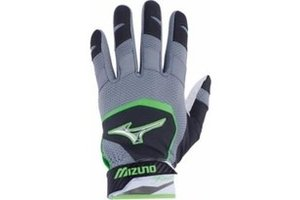 Mizuno Batting Glove Finch YTH 2018 BLACKOPTIC/SULPHUR