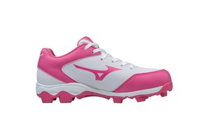 Mizuno Mizuno Spike Franchise low Youth white-pink