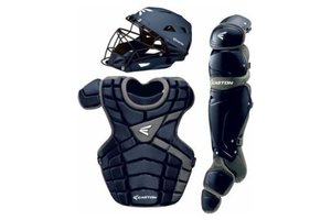 Easton Easton M10 Custom Catcher Set Youth 9-12 years old navy and silver