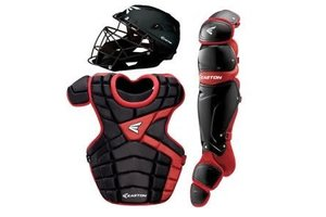 Easton Easton M10 custom Catcher set adult black/red