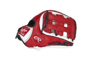 Rawlings RAWLINGS GAMER GXLE315-6WS 11.75 RHT Infield Glove Pro H Web, Conventional Back