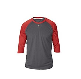 Easton EASTON RAGLAN CREW NECK youth Charcoal/Red