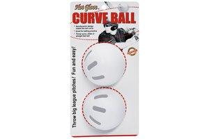 Sideline Sports Sidelines Hot glove practice curve baseballs - 2 balls