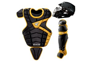Easton Easton M10 custom Catcher set youth 9 -12 years old black/gold