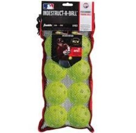 "Franklin Franklin MLB® 9"" Indestruct-A-Ball Baseball optic yellow"