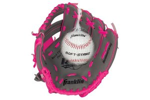 Franklin Franklin Teeball perform 9.5'' graphite/pink with ball