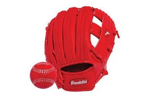Franklin Franklin Teeball perform 9.5'' red with ball