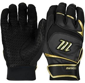 Marucci Marucci Pittards signature batting gloves adult black/gold