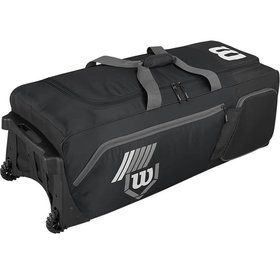 Wilson Wilson Pudge 2.0 bag on wheels black