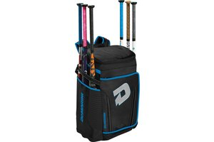 DeMarini DeMarini - OPS special backpack Black/Hyper blue