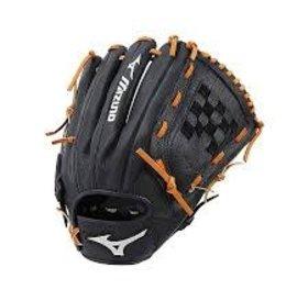 "Mizuno Mizuno GPSL1200 Prospect Select Series Pitcher/Outfield Baseball Glove 12"" LHT black"