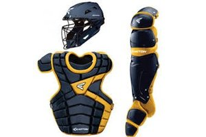 Easton Easton M10 Custom Catcher Set Adult navy gold