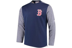 Majestic Majestic Mens authentic On-Field Tech Fleece - Boston Red Sox