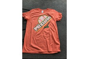 Mizuno Mizuno Crush t-shirt orange adult