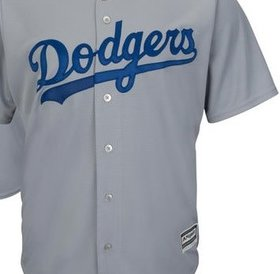 Majestic Majestic LA Dodgers replica jersey adult xxlarge grey