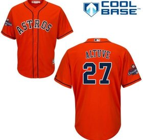 Majestic Majestic Houston Astros Jose Altuve Replica jersey small
