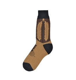 Foot Traffic Mens Cowboy Boot Socks