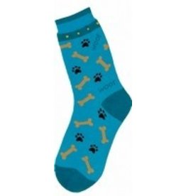 Foot Traffic Womens I Luv My Dog Socks