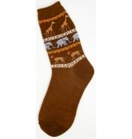 Foot Traffic Womens Safari Socks