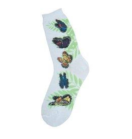Foot Traffic Womens Butterflies Socks