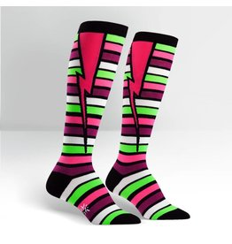 Sock it to Me SITM Women's Stripe Bolt Socks