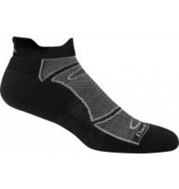 Darn Tough Mens Merino Wool No Show Ultra Light Cushion Black/Grey