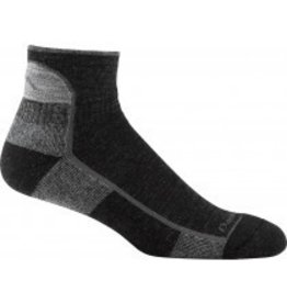 Darn Tough Mens Merino Wool Hike/Trek 1/4 Top Cushion Black