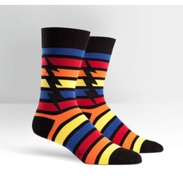 Sock it to Me SIMT Men's Stripe Bolt Socks