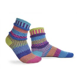 Solmate Solmate Adult Crew Socks Bluebell Small