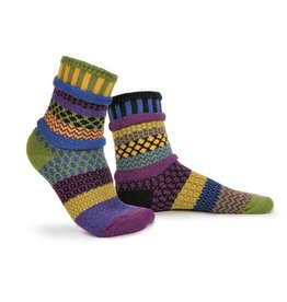 Solmate Solmate Adult Crew Socks October Morning Large