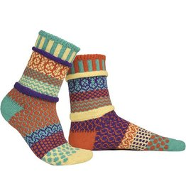 Solmate Solmate Adult Crew Socks Dawn Large