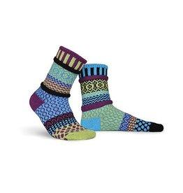 Solmate Solmate Adult Crew Socks Equinox Small