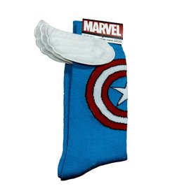 Marvel Captain America with Wings Crew Socks