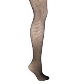 Foot Traffic Womens Tights Fishnet Plus Size Black